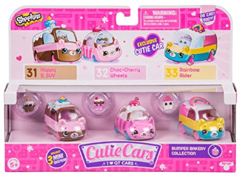 [ショップキンズ]Shopkins Series 1 Cutie Cars 3-Pack - Bumper Bakery バンパーベーカーリー 56644 [並行輸入品]