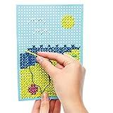 子供用 クロスステッチ カード キット(6個入り)子供のたちの手芸、手作りに 画像