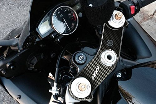 PRINT(プリント) トップブリッジステッカー カーボン柄 YZF-R6 06-14 PPS-Y10P