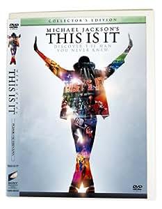 """【Amazon.co.jp 限定】マイケル・ジャクソン THIS IS IT コレクターズ・エディション (1枚組)(エコパッケージ仕様/""""アース・ソング""""バージョン/完全数量限定) [DVD]"""