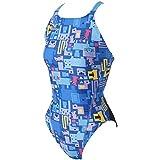 MIZUNO(ミズノ) 競泳水着 トレーニング用 ジュニア エクサースーツ ミディアムカットワンピース N2MA796827 17秋冬モデル サイズ:140 ブルー