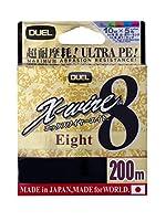 デュエル(DUEL) PEライン エックスワイヤー8 200m 0.6号 5色 H3424