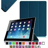 Fintie iPad 2 / 第3世代 iPad / 第4世代 iPad 専用 保護ケース 三つ折スタンドタイプ 高級PUレザー 超薄型 最軽量 オートスリープ機能付き スマートケース カバー (ネイビー)