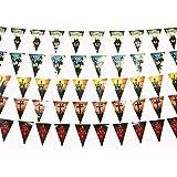 ハロウィン 吊り飾り ガーランド おしゃれ Halloween パーティー デコレーション ハロウィン雑貨 インテリア 屋外 庭園 芝生 バー 7セット