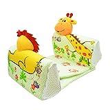Walant ベビー枕 寝返り防止クッション 赤ちゃん枕 幅の調整可能 ベビーピロー (ライオン)