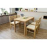 ダイニングテーブル/リビングテーブル 〔長方形/110cm×70cm〕 ナチュラル『TORINO』 木製〔代引不可〕