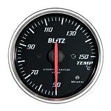 BLITZ(ブリッツ) RACING METER SD(レーシングメーターSD) 丸型アナログメーター φ52 TEMP METER 19573