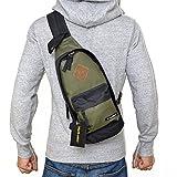(Marib select) 斜め掛けバッグ カラーボディバッグ バッグ かばん ワンショルダー 軽量 男女兼用 ユニセックス カジュアル #b772