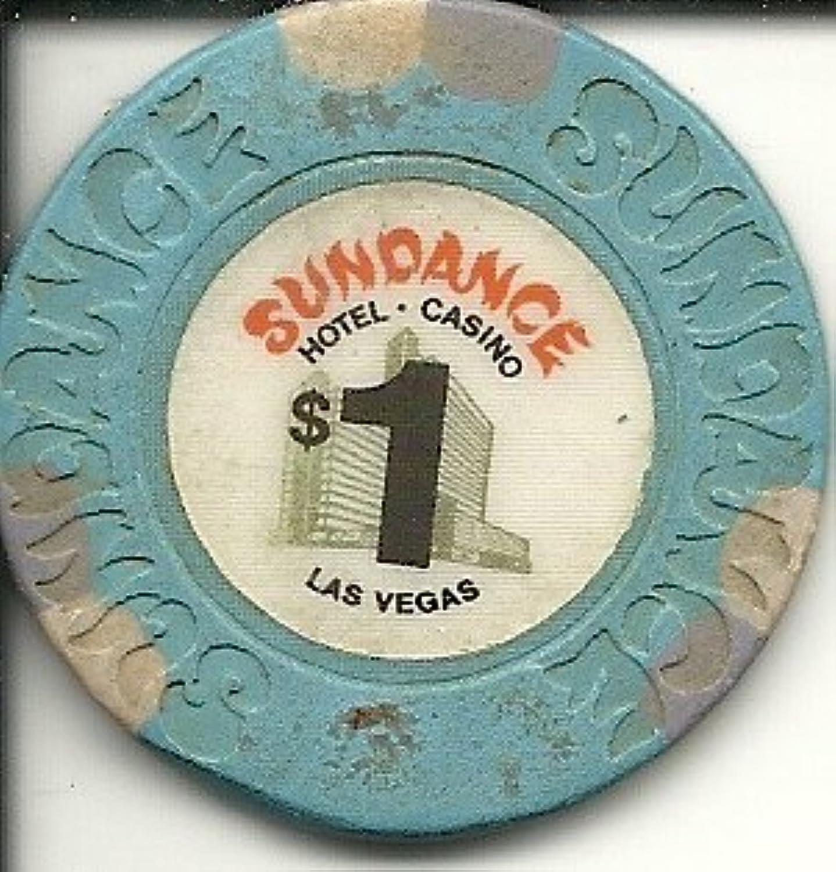 $ 1 Sundance Obsoleteラスベガスカジノチップ