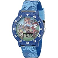 Nickelodeon Kids' PAW4000 Paw Patrol Digital Display Quartz Multi-Color Watch