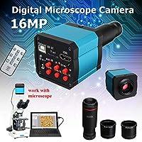 Ungfu Mall 16MP 1080PUSB Cマウント デジタル産業 ビデオ顕微鏡 カメラズームレンズ