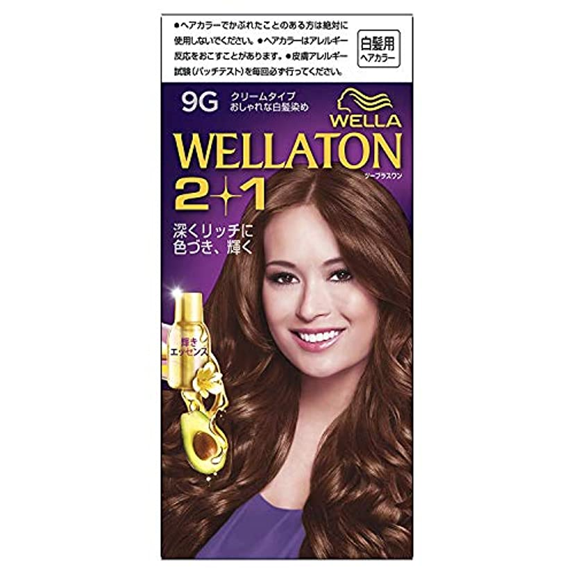自分のために間接的穿孔するウエラトーン2+1 クリームタイプ 9G [医薬部外品] ×6個
