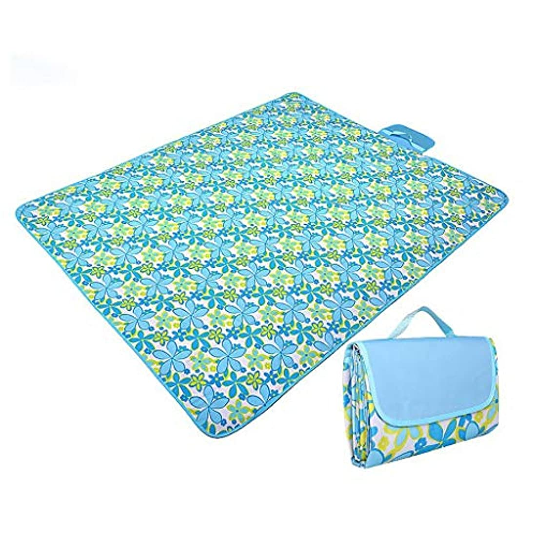 冷ややかな章スリンクピクニック毛布、ビーチマット、携帯用屋外カーペットマット、キャンプ用200 x 200 cmサンドサンド屋外 (色 : B)