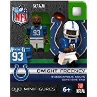 OYO Football NFL Building Brick Minifigure Dwight Freeney [Indianapolis Colts]