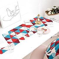 WXMING テーブルランナーのためにウェディングパーティー表農家テーブルランナーピアノカバー布 (Color : I, Size : 30x220CM)