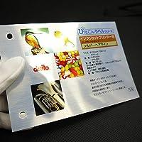 インクジェット用 ぴたこんラベル ハイグレードタイプ HG シルバーヘアライン A4 25枚/冊入 IHA4SH