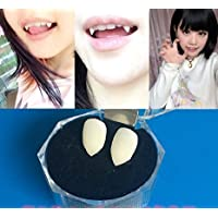 KISENG Halloween Party Cosplay Prop Decoration Vampire Tooth Horror False Teeth Medium Size (15mm) by KISENG [並行輸入品]