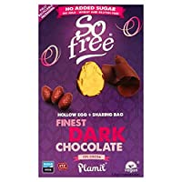 So Free Finest Dark Chocolate Easter Egg 125g - チョコレートイースターエッグ, チョコレートエッグ