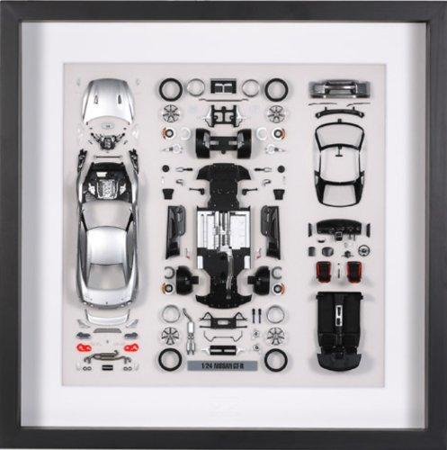 パーツパネルコレクション No.10 1/24 NISSAN GT-R アルティメイトシルバー パーツパネル ソリッド