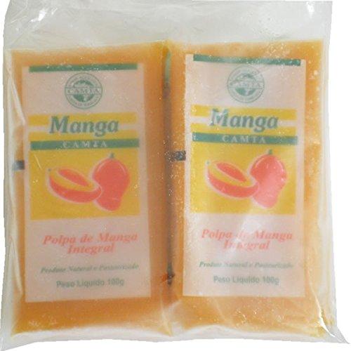 マンゴー 100% 冷凍ピューレ 5個セット 無糖 400g/100g×4P フルッタフルッタ