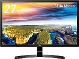 LG モニター ディスプレイ 27UD58-B 27インチ/4K(3840×2160)/IPS 非光沢/HDMI×2、DisplayPort/ブルーライト低減機能