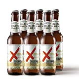 Crossroads Brewing Golden Ale Beer, 330 ml (Pack of 6)