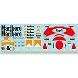 ミュージアムコレクション D665 1/12 ヤマハ YZR500 `88 マルボロ&ヘルメット デカール ハセガワ対応