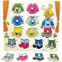 YChoice 教育パズル キッズ 木製ペグパズルボード 教育学習玩具 素晴らしいギフト キッズ(男の子)