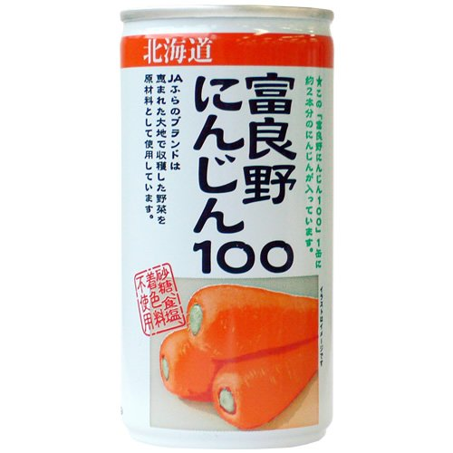 JAふらの 富良野にんじん100 190g×30本...