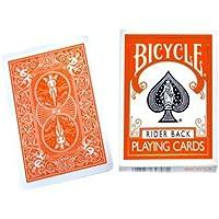 Cards Bicycle Orange Back USPCC - Trick by Vincenzo Di Fatta (V) [並行輸入品]