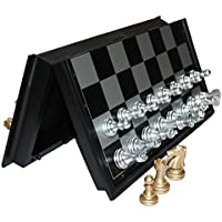 Flowermoon Travel Chess Set Magnetic Chess Board Game