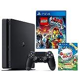 PlayStation 4 ジェット・ブラック 500GB + LEGO(R)ムービー ザ・ゲーム + New みんなのGOLF ダウンロード版【Amazon.co.jp限定】オリジナルカスタムテーマ配信