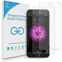 【2枚入り】Beikell iphone8 plus / iphone7 plus ガラスフィルム 5.5インチ用 液晶保護フィルム 3Dラウンドエッジ加工 9H硬度 ガラス飛散防止 透明性99% 指紋防止 気泡ゼロ