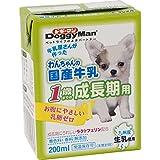 ドギーマン わんちゃんの国産牛乳 1歳までの成長期用 200ml×24個入り 【ケース販売】