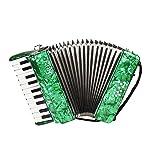 ammoon 初心者入門4セットピアノアコーディオン アコーディオン 8ベース 22鍵 楽器 独奏用