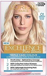 L'Oréal Paris Excellence Creme 01 Very Light Natural Blonde (100 Percent Grey Cover