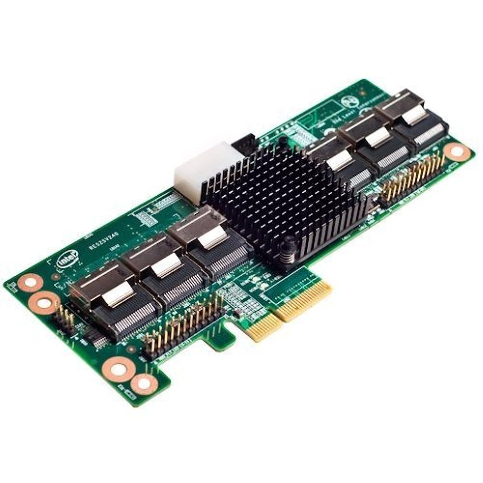 熱帯の続編撤退インテルres2sv240 24ポートSASコントローラExpander