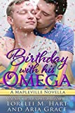 オメガ Birthday With His Omega (M/M Non Shifter Alpha/Omega MPreg): A Mapleville Novella (English Edition)