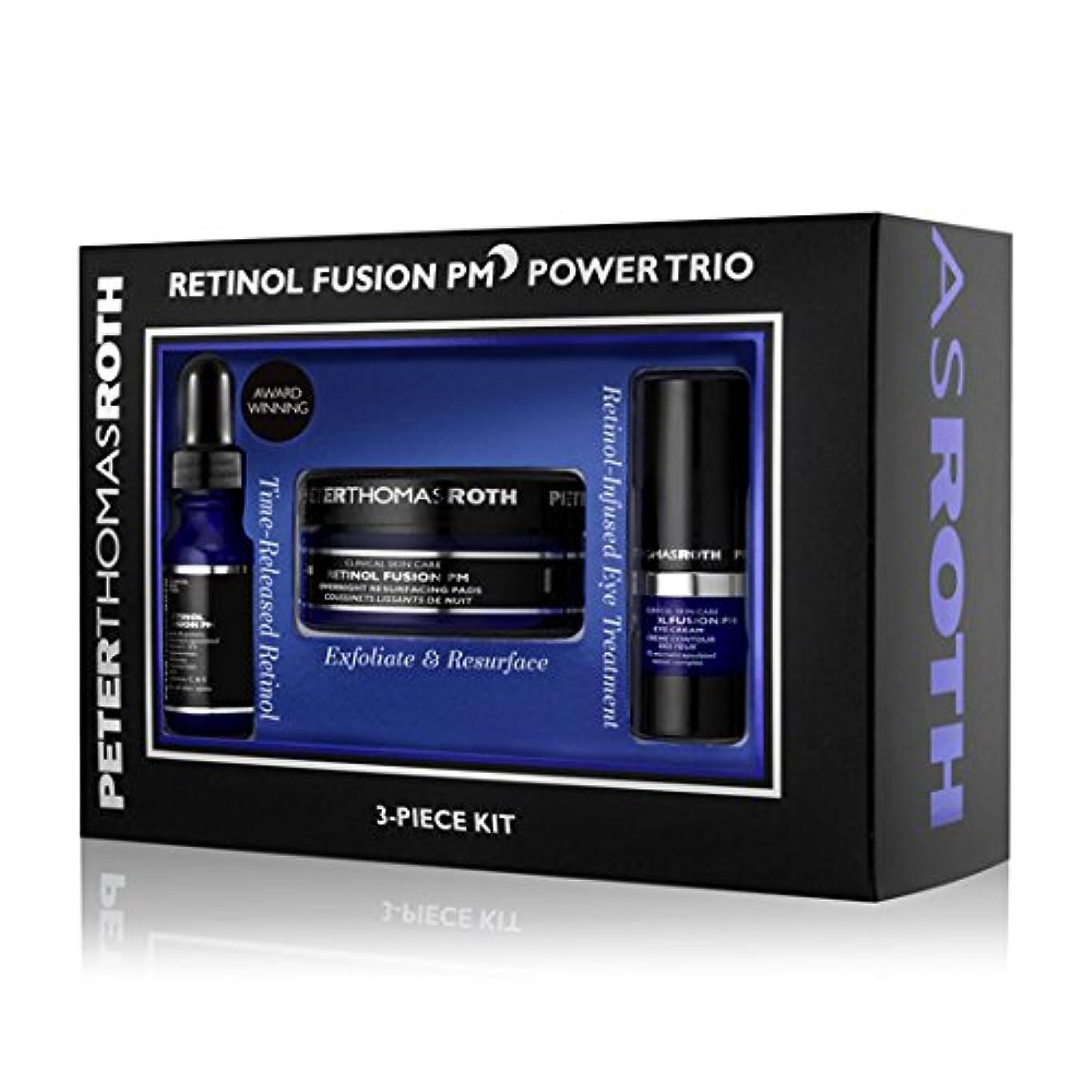 ハイランド一見記者PETER THOMAS ROTH - Retinol Fusion PM Power Trio