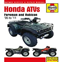 Honda ATVs: Foreman and Rubicon '95 to '11 (Haynes Service & Repair Manual)
