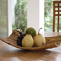 【アジア工房】バンブーラティスの果物かご[Sサイズ][8131] [並行輸入品]