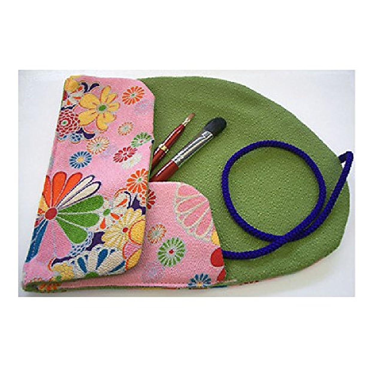 未就学ヨーグルトバーベキュー熊野筆 Ai brush WA-2B/和風化粧筆セット