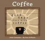 Coffee 2019 Deluxe Wall Calendar