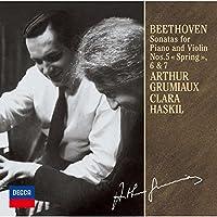 ベートーヴェン:ヴァイオリン・ソナタ第5番「春」、第6番、第7番(モノラル録音)
