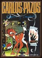 ポスター カルロス パゾス バンビ/Bambi Joan Prats Gallery 1993年 額装品 ウッドハイグレードフレーム(オーク)