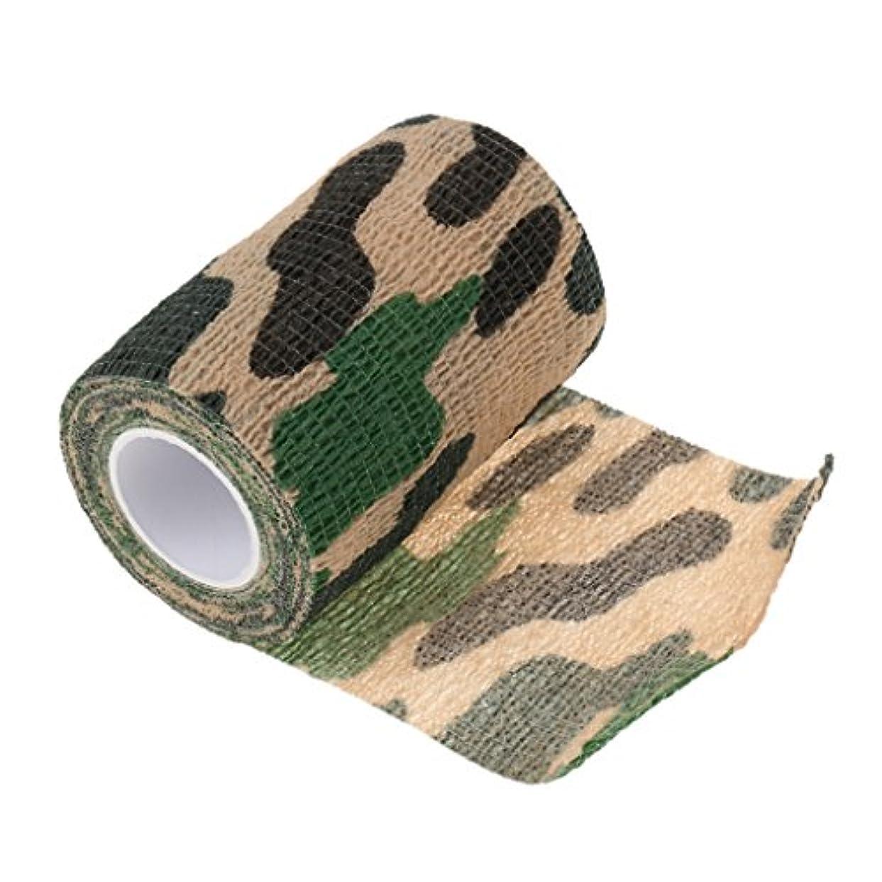 農学回転武器【ノーブランド品】 8種類 不織布 粘着 柔軟 弾性 テープ 包帯 ラップ