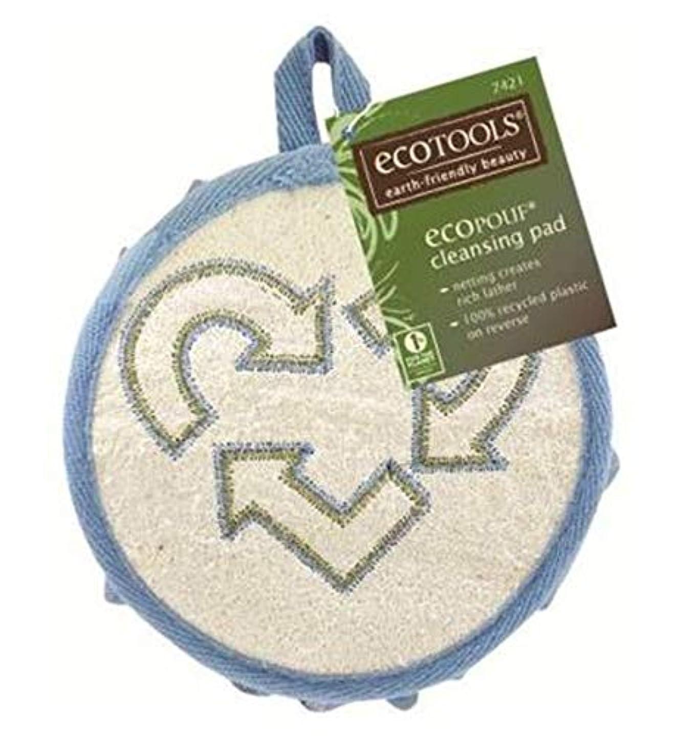 乗算居住者思春期[EcoTools] Ecotoolsクレンジングパッド - Ecotools Cleansing Pad [並行輸入品]