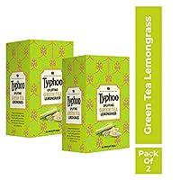 Typhoo UPLIFTING Green Tea, Lemon Grass, 25 Tea Bags (Pack of 2)