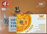 [Vietnamobile] ベトナム 4G 15日間 10GB データ通信SIMカード [並行輸入品]