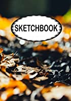 Sketchbook: Leaves 2: 110 Pages of 7 X 10 Blank Paper for Drawing (Sketchbooks)